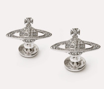 Mini Bas Relief Cufflinks Silver-Tone