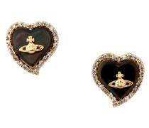Leontyne Heart Earrings Gold