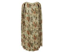 Kilt Dress Beige Old Flowers - One