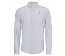 Blue/White Stripe Krall Stretch Shirt