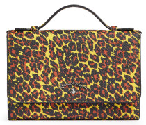 Anglomania Leopard Travel Wallet 390048 Yellow
