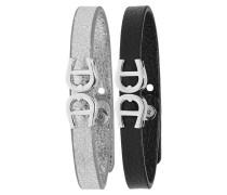 Basics Leder-Armband-Set