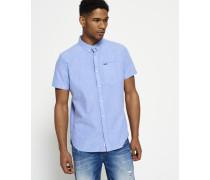 Herren Ultimate Oxford-Hemd blau