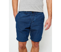 Herren International Riviera Chino Shorts blau