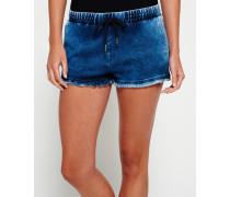 Damen Runner Shorts blau