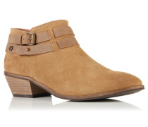 Damen Lily Low Ankle Boots braun