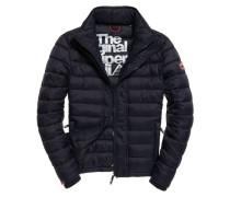 Herren Fuji Triple Zip Through Jacke marineblau