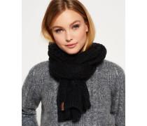 Damen North Cable Schal schwarz