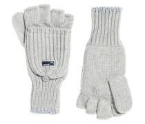 Damen Fingerlose Ollie Handschuhe hellgrau