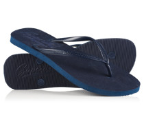 Damen Sleek Flipflops marineblau