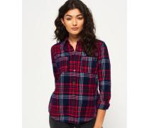 Damen Lumberjack Hemd rot