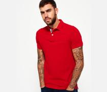 Herren Classic Upstate Polohemd aus Pikee rot