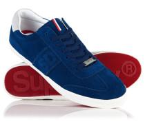 Herren Classic Court Vintage Sneaker marineblau