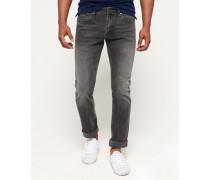 Herren Slim Jeans dunkelgrau