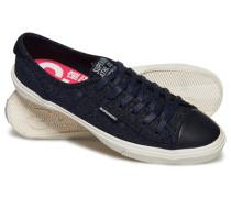 Damen Niedrige Pro Luxe Sneaker marineblau
