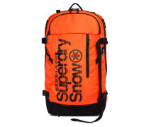 Herren Ultimate Snow Service Rucksack orange