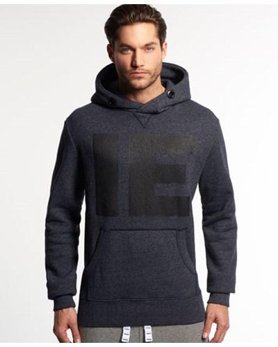 superdry herren superdry herren runner cross neck hoodie dunkelblau reduziert. Black Bedroom Furniture Sets. Home Design Ideas
