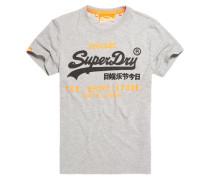 Herren Shirt Shop Duo T-Shirt hellgrau