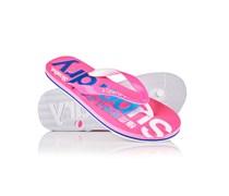 Damen Scuba Logo Faded Flip-Flops pink