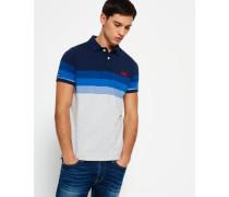 Herren Longbeach Polo-Shirt marineblau