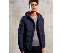 Herren Sports Pufferjacke blau
