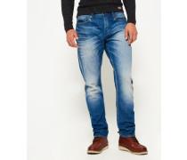 Herren Loose Jeans blau