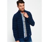 Herren Ultimate Pinpoint Oxford-Hemd marineblau