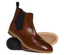 Herren Premium Meteora Chelsea Stiefel braun
