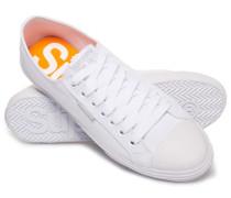 Herren Niedrige Pro Sneaker weiß