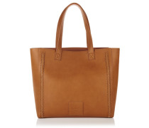 Damen Cross Stitch Amelia Tote Bag braun