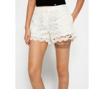 Damen Lace Shorts weiß