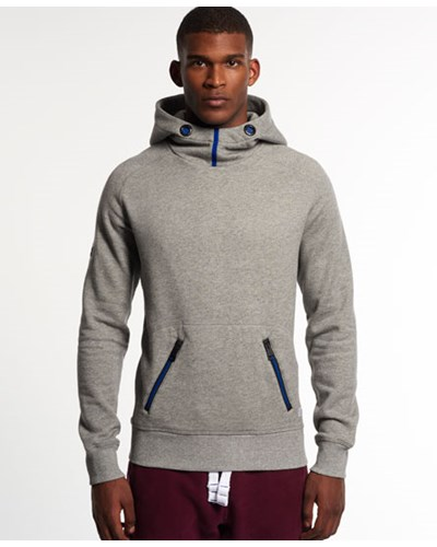 superdry herren superdry herren sport high hoodie grau reduziert. Black Bedroom Furniture Sets. Home Design Ideas