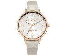 Damen Ascot Sunrise Armbanduhr weiß