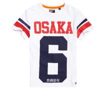 Herren Osaka 6 T-Shirt weiß