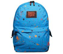 Herren Summer Montana Rucksack mit Farbspritzer-Print blau