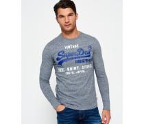 Herren Shirt Shop Long Sleeve T-Shirt grau