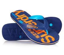 Damen Scuba Flip Flops marineblau