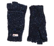 Damen Clarrie Handschuhe mit Ziernaht marineblau