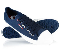 Herren Low Pro Sleek Sneaker marineblau