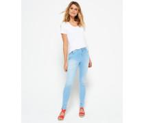 Damen Sophia High Waist Super Skinny Jeans blau