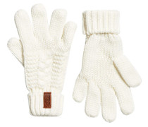 Damen North Handschuhe creme