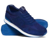 Herren Athletics Runner Sneaker blau