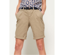 Damen International City Shorts braun