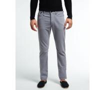 Herren Colour Jeans grau