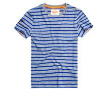 Herren Classic Stripe Pocket T-Shirt grau