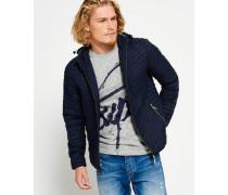 Herren Vintage Fuji Jacke marineblau