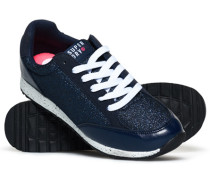 Damen Core Runner Sneaker marineblau