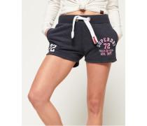 Damen Leichte Track & Field Shorts dunkelgrau