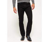 Herren Corporal Slim Jeans schwarz
