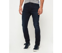 Herren Slim Low Rider Jeans blau